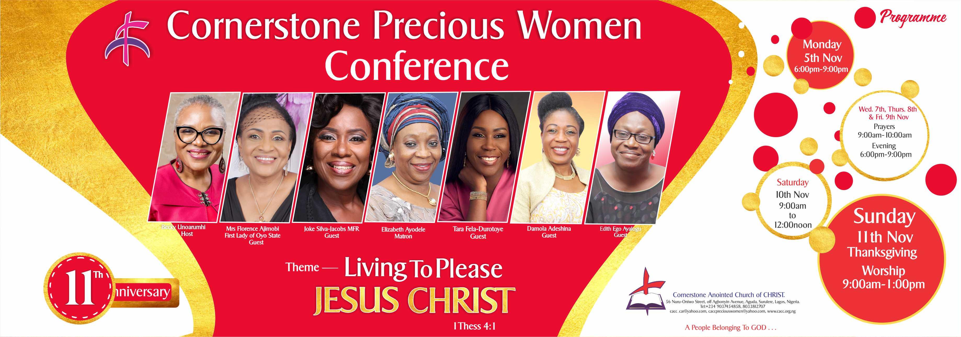 Cornerstone Precious Women Conference